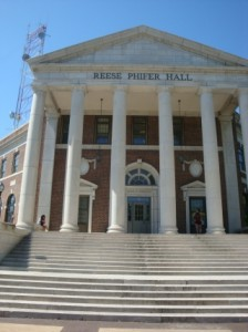 The Reese Phifer Hall